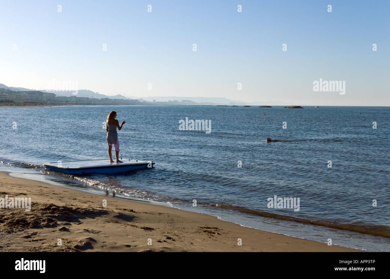 Pescara Strand italien pescara strand stockfoto bild 15838101 alamy