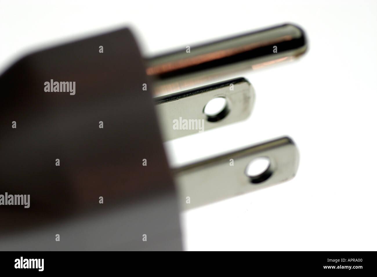 ac dc elektrische elektrische aktuelle steckdose stecker ger t wand strom drei zinken boden. Black Bedroom Furniture Sets. Home Design Ideas