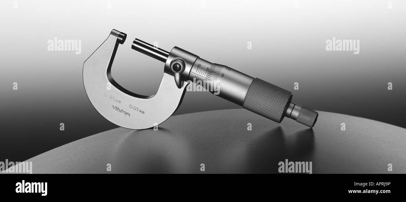 Mikrometer-instrument Stockbild