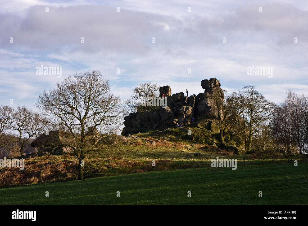 Robin Hood Stride, Harthill Moor, Peak District National Park, Derbyshire, England, Vereinigtes Königreich Stockfoto