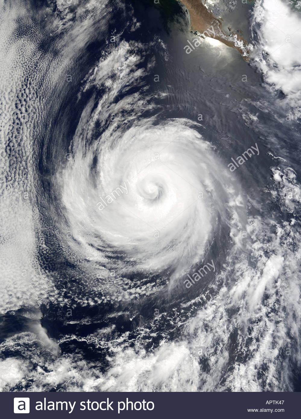 Hurrikan Wetter Klima Klima Windrose Stockbild