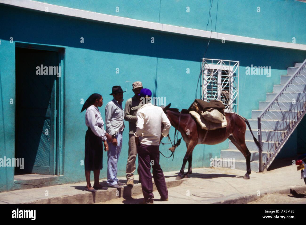 Dominikanische Republik der schwarzen Männer