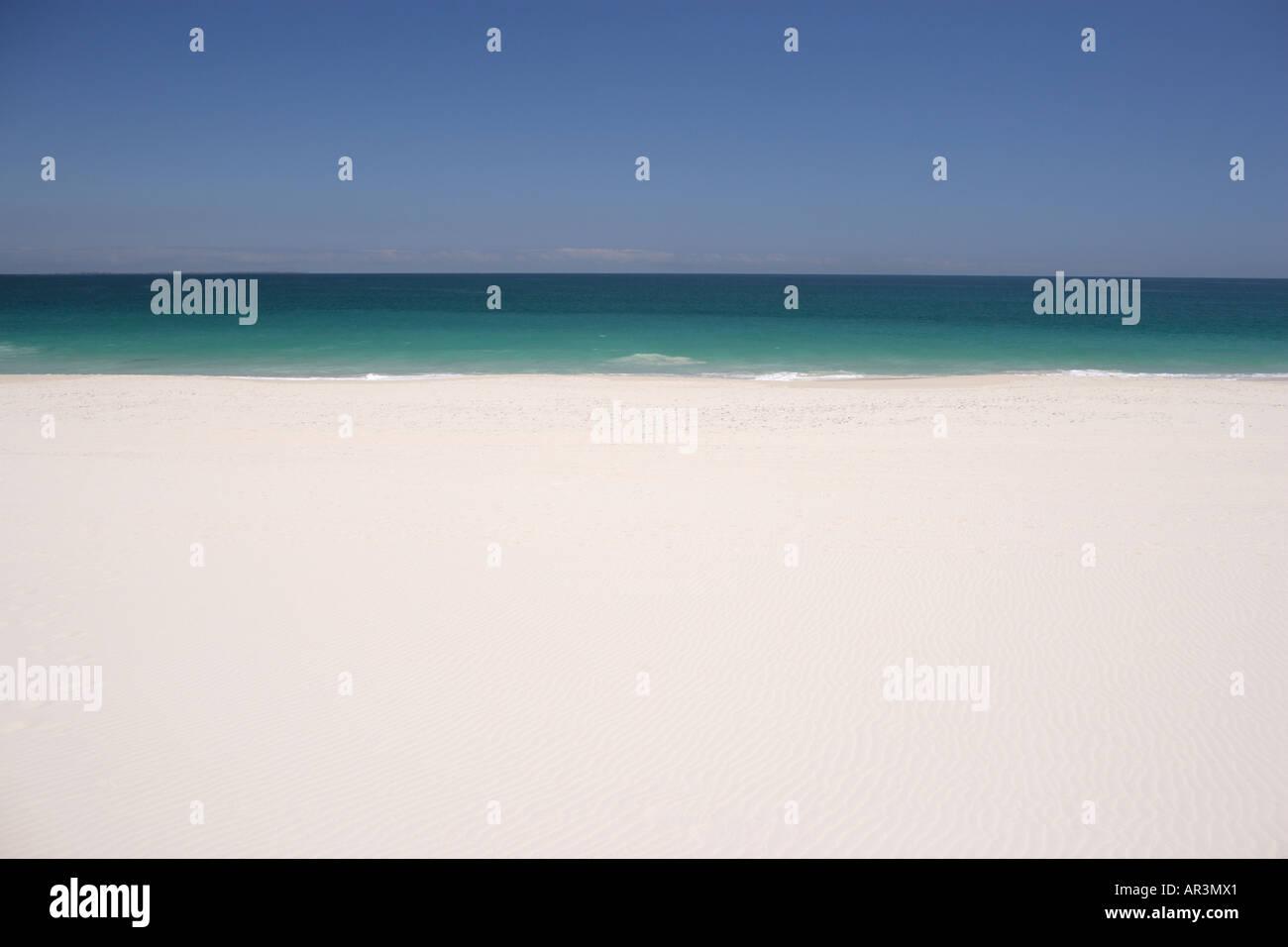 Generische tropischen Strand Stockbild