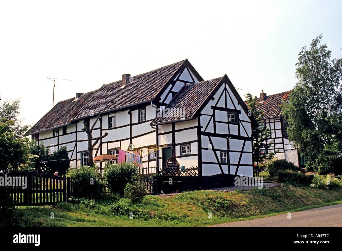 Limburg Niederlande halbe Fachwerkhaus Rahmen Bauernhof Stockfoto ...