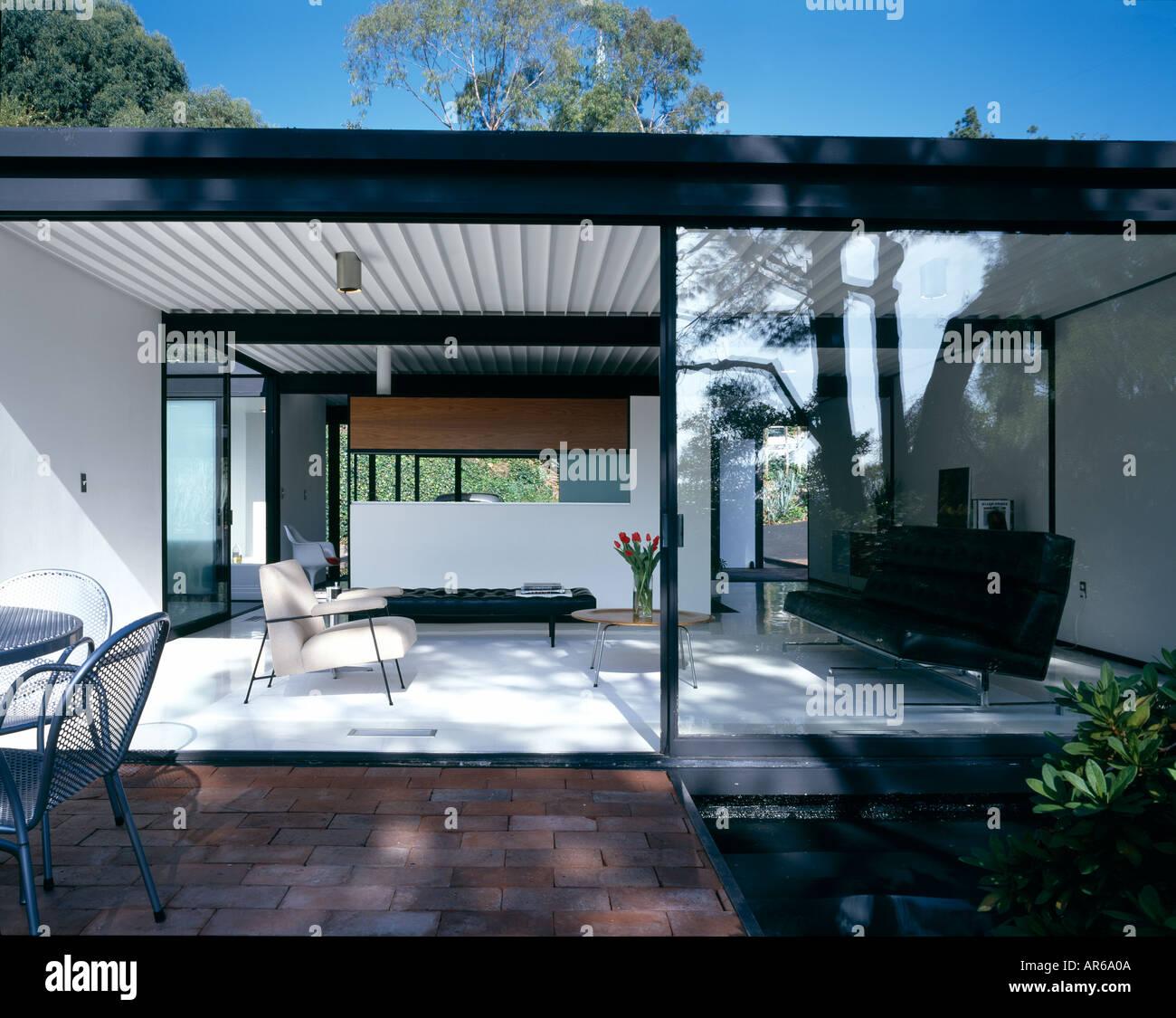 fallstudie haus 21 wonderland avenue hollywood hills los angeles wohnzimmer von terrasse. Black Bedroom Furniture Sets. Home Design Ideas