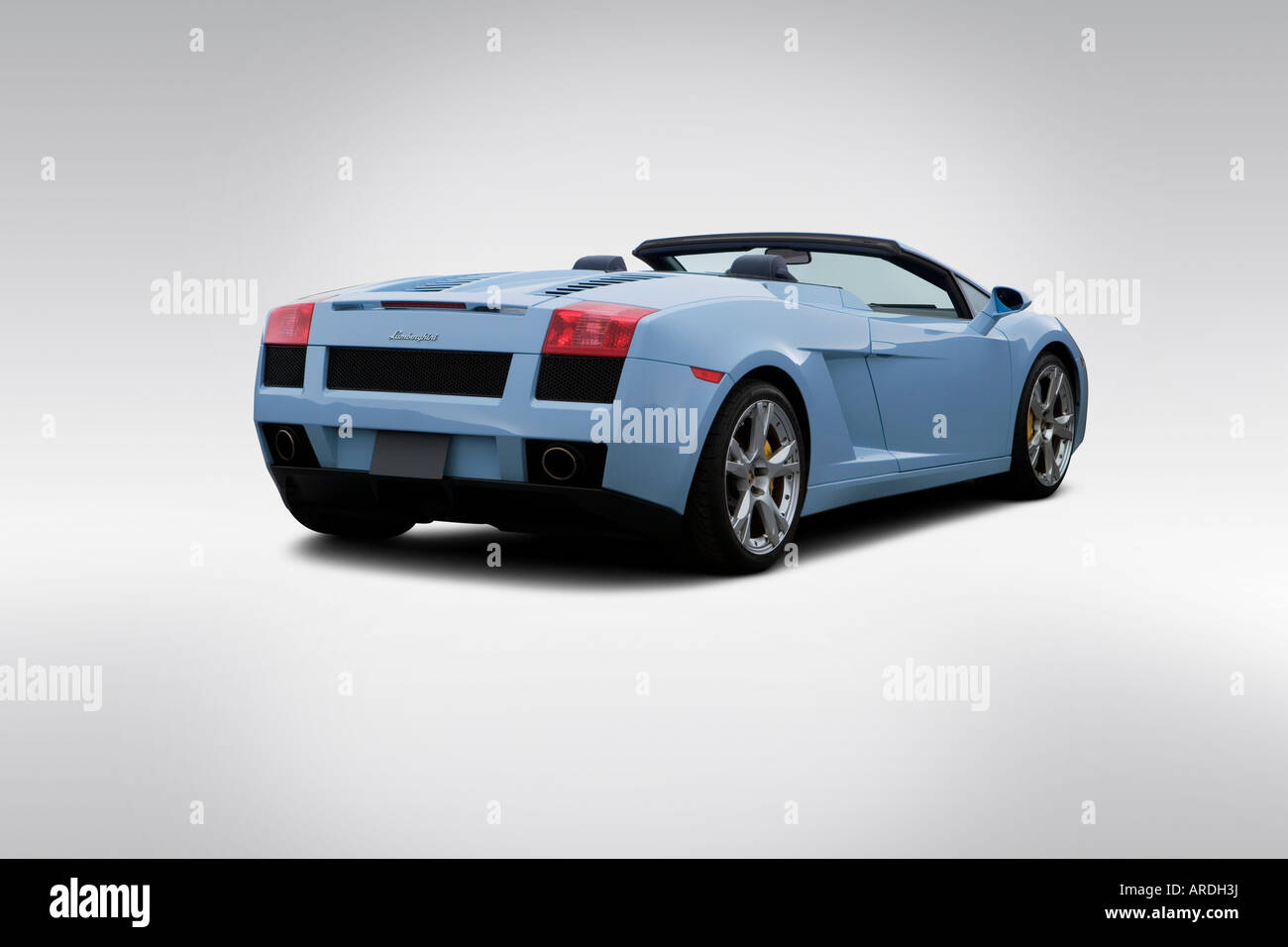 lamborghini gallardo spyder roadster stockfotos. Black Bedroom Furniture Sets. Home Design Ideas
