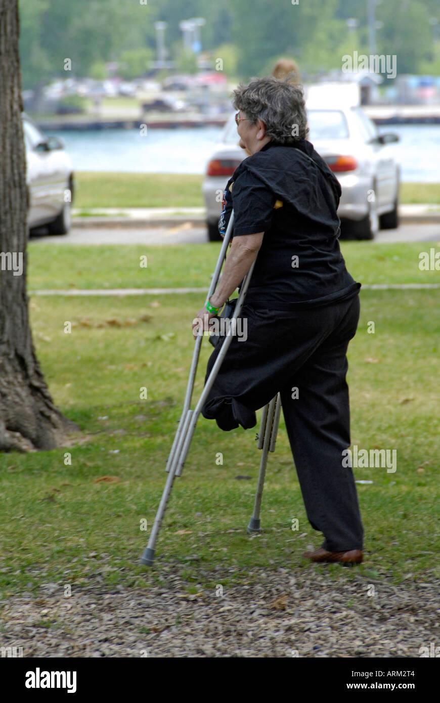 Handicap one leg - 1 8