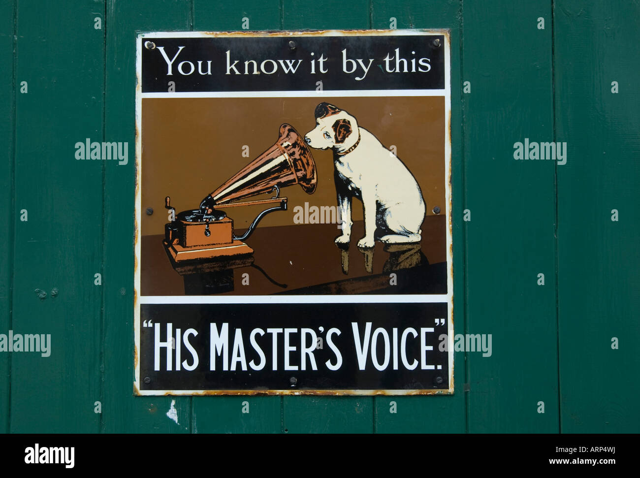 Hmv Dog Stockfotos Hmv Dog Bilder Alamy