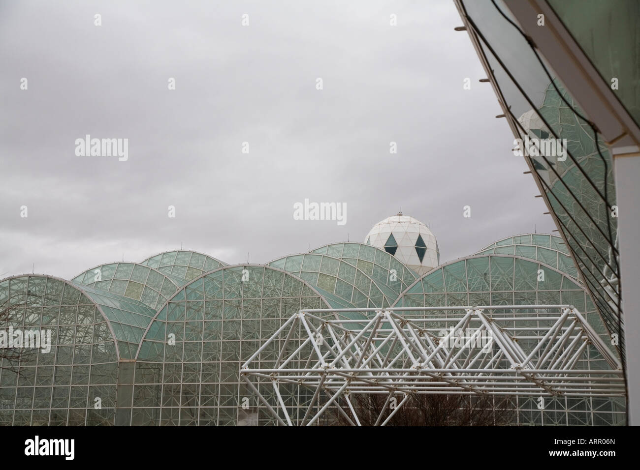 Biosphäre 2 Stockbild