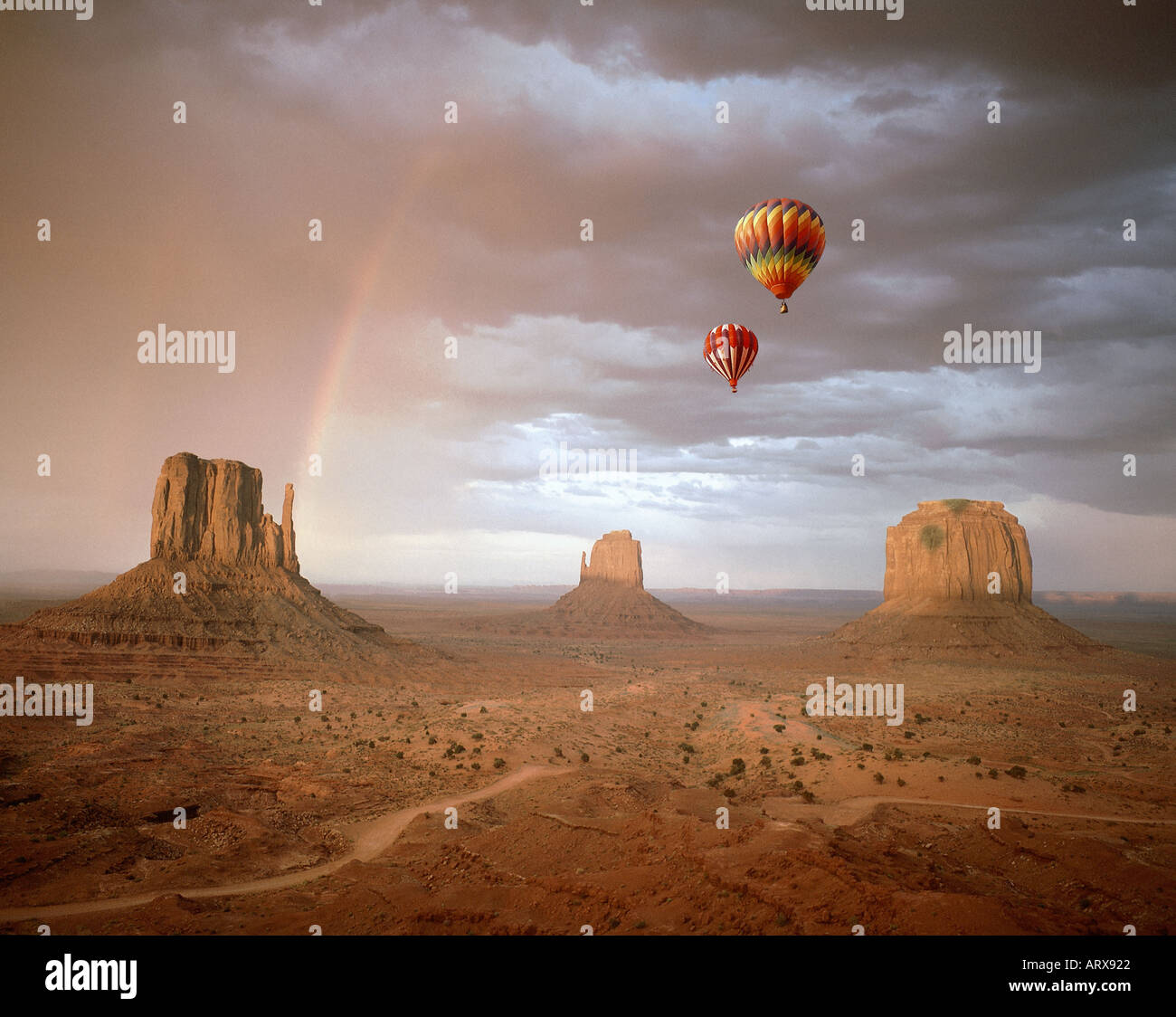 USA - ARIZONA: Monument Valley Navajo Tribal Park Stockbild