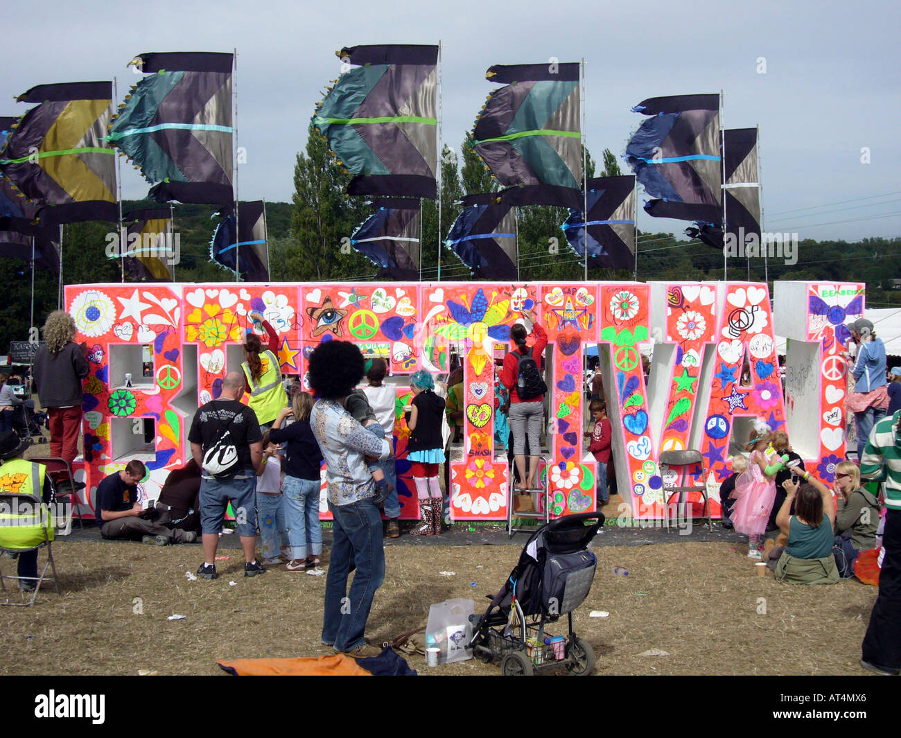 Bestival 2006, Isle Of Wight, UK. Stockfoto