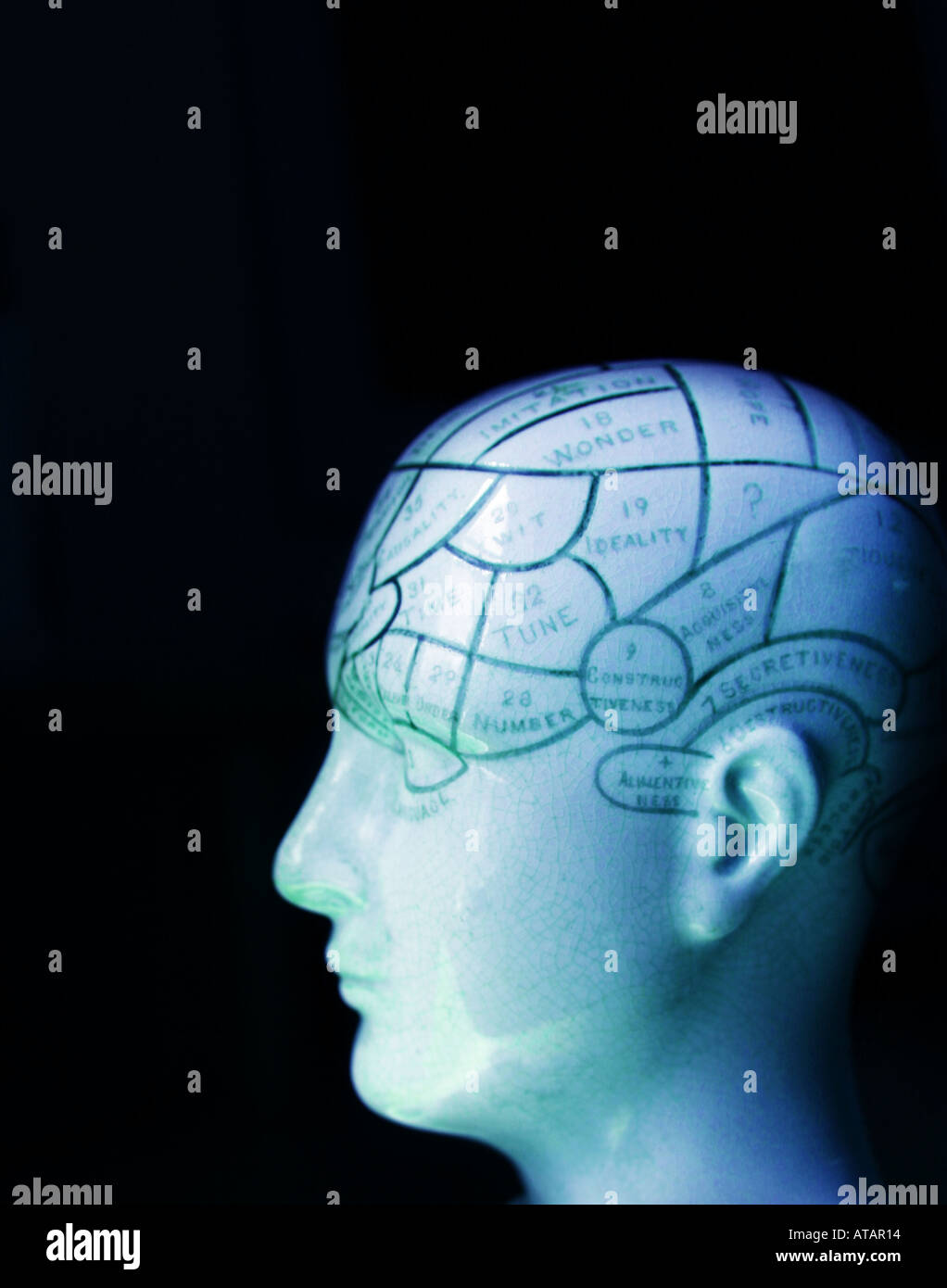 Mind 2 Stockbild