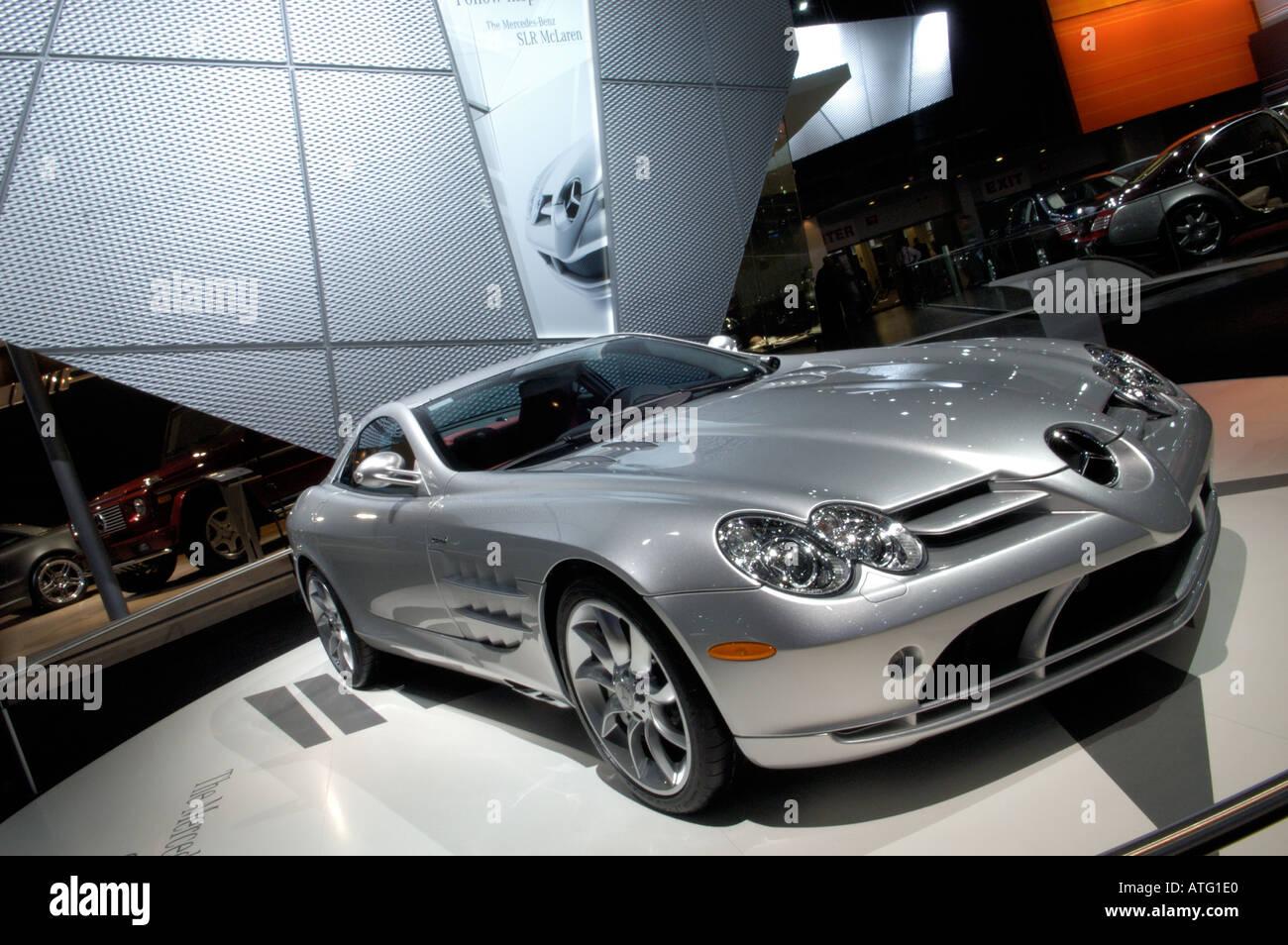 Car Mercedes Slr Mclaren Coupe Coupe Stockfotos & Car Mercedes Slr ...