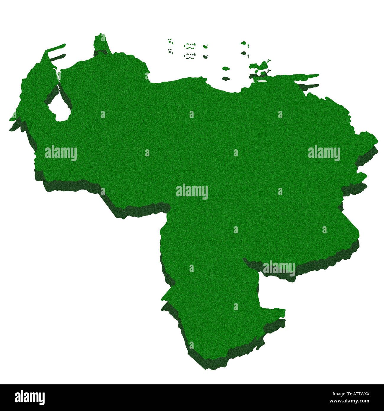 Map Venezuela Stockfotos & Map Venezuela Bilder - Alamy