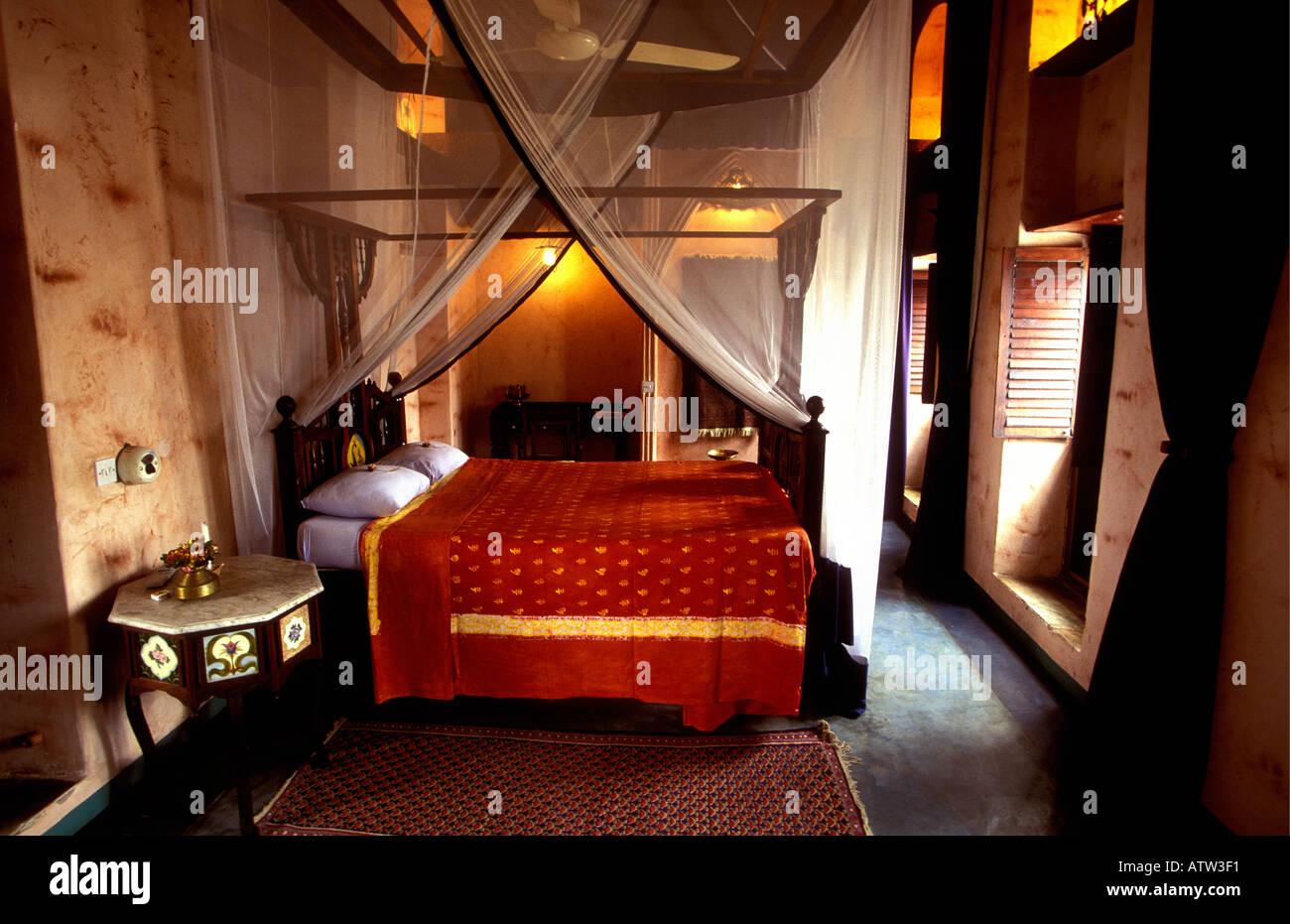 Luxus Schlafzimmer im Emerson und Green Hotel Sansibar Tansania ...