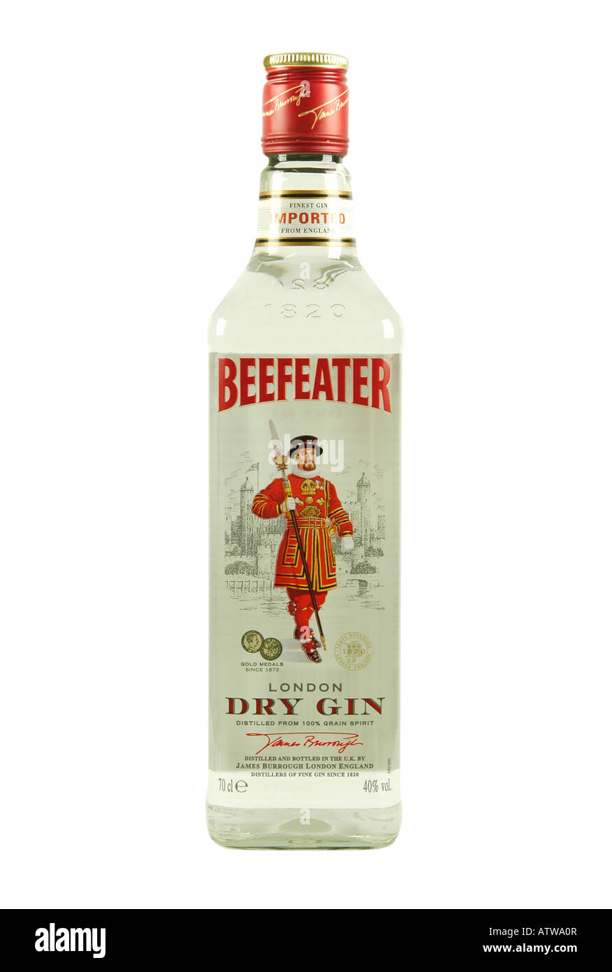 Beefeater London Dry Gin Flasche Stockfoto Bild 16395238 Alamy
