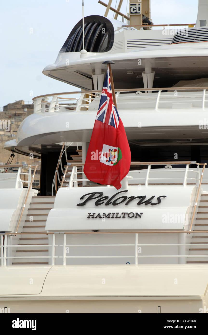 Superyacht abramovich  Pelorus Superyacht im Besitz von Roman Abramovich im November 2005 ...