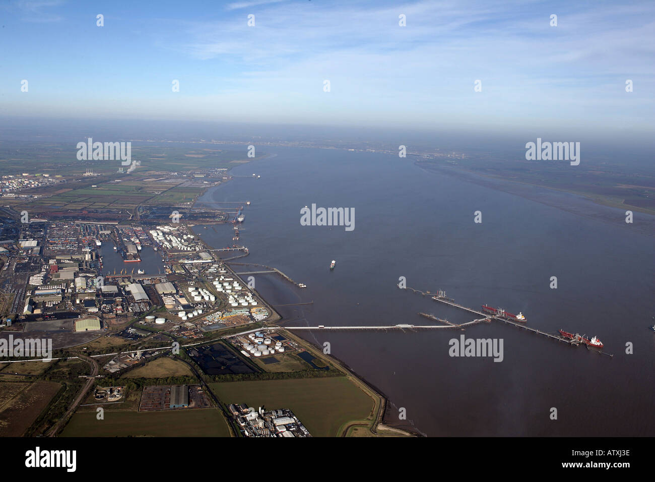 immingham docks stockfotos immingham docks bilder alamy. Black Bedroom Furniture Sets. Home Design Ideas
