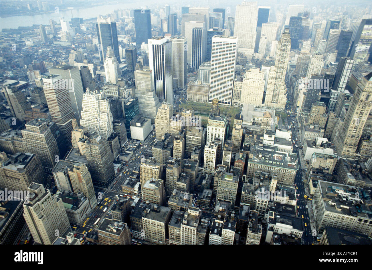 Stadtbild New York 1982 New York Vereinigte Staaten Stockfoto, Bild ...