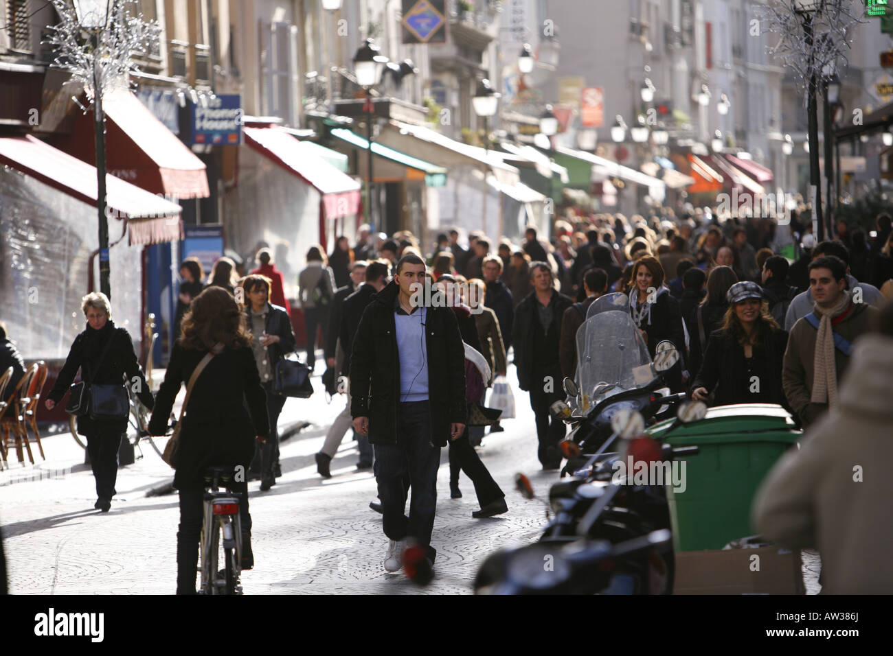 Cafe Escargot Paris Rue Rambuteau