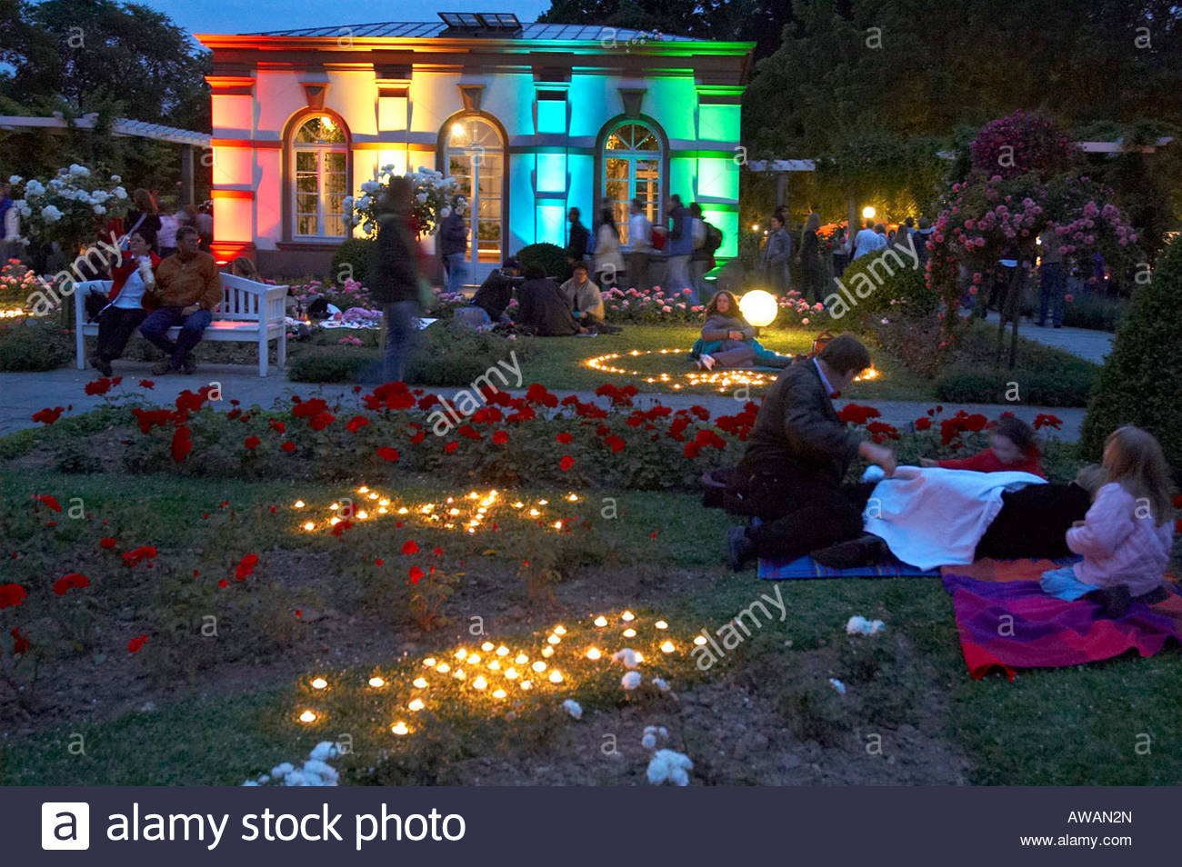 frankfurt main palmengarten rosen und lichterfest stockfoto bild 16521260 alamy. Black Bedroom Furniture Sets. Home Design Ideas
