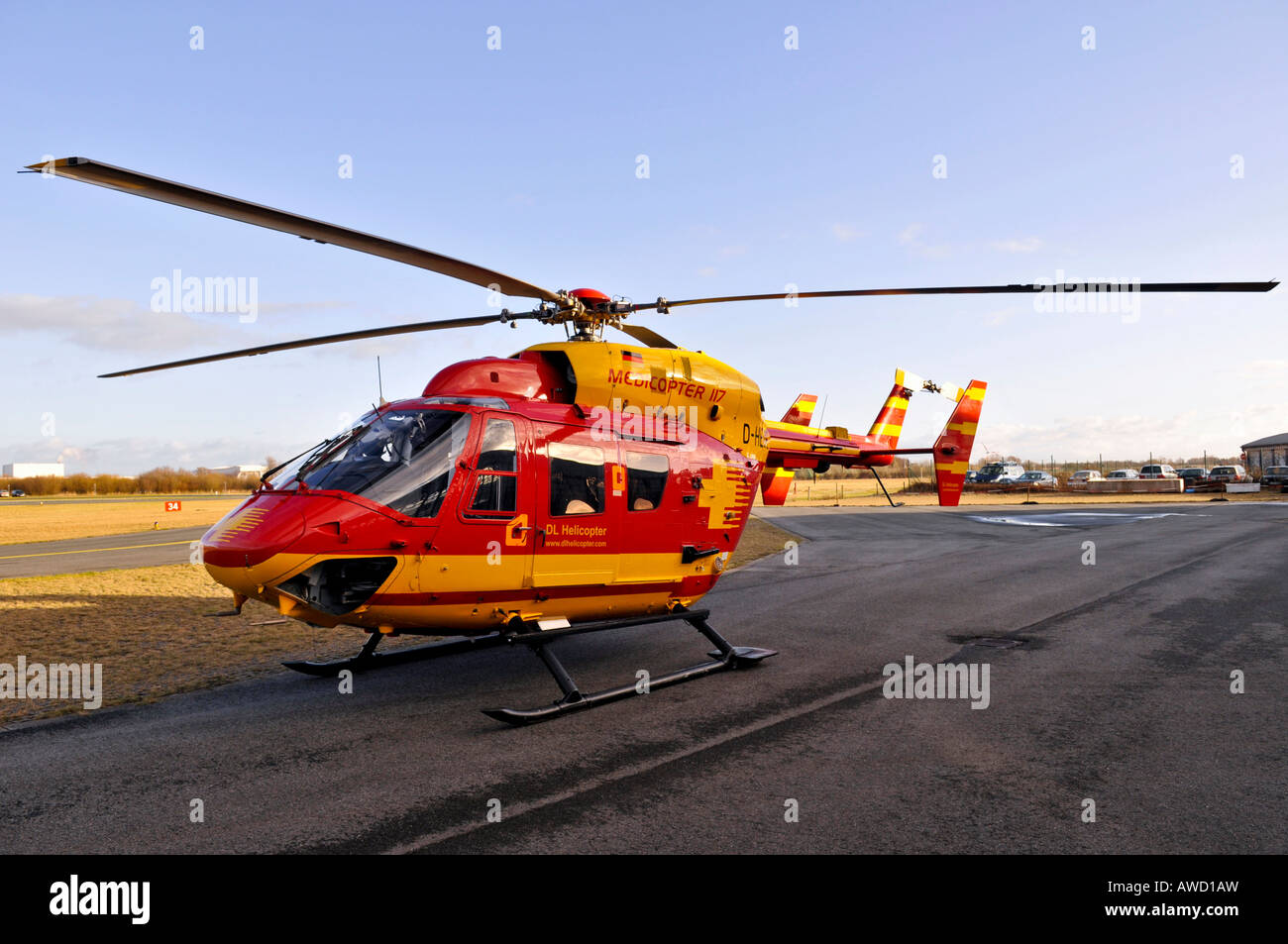 eurocopter medicopter bk 117 stockfoto bild 16542864 alamy. Black Bedroom Furniture Sets. Home Design Ideas