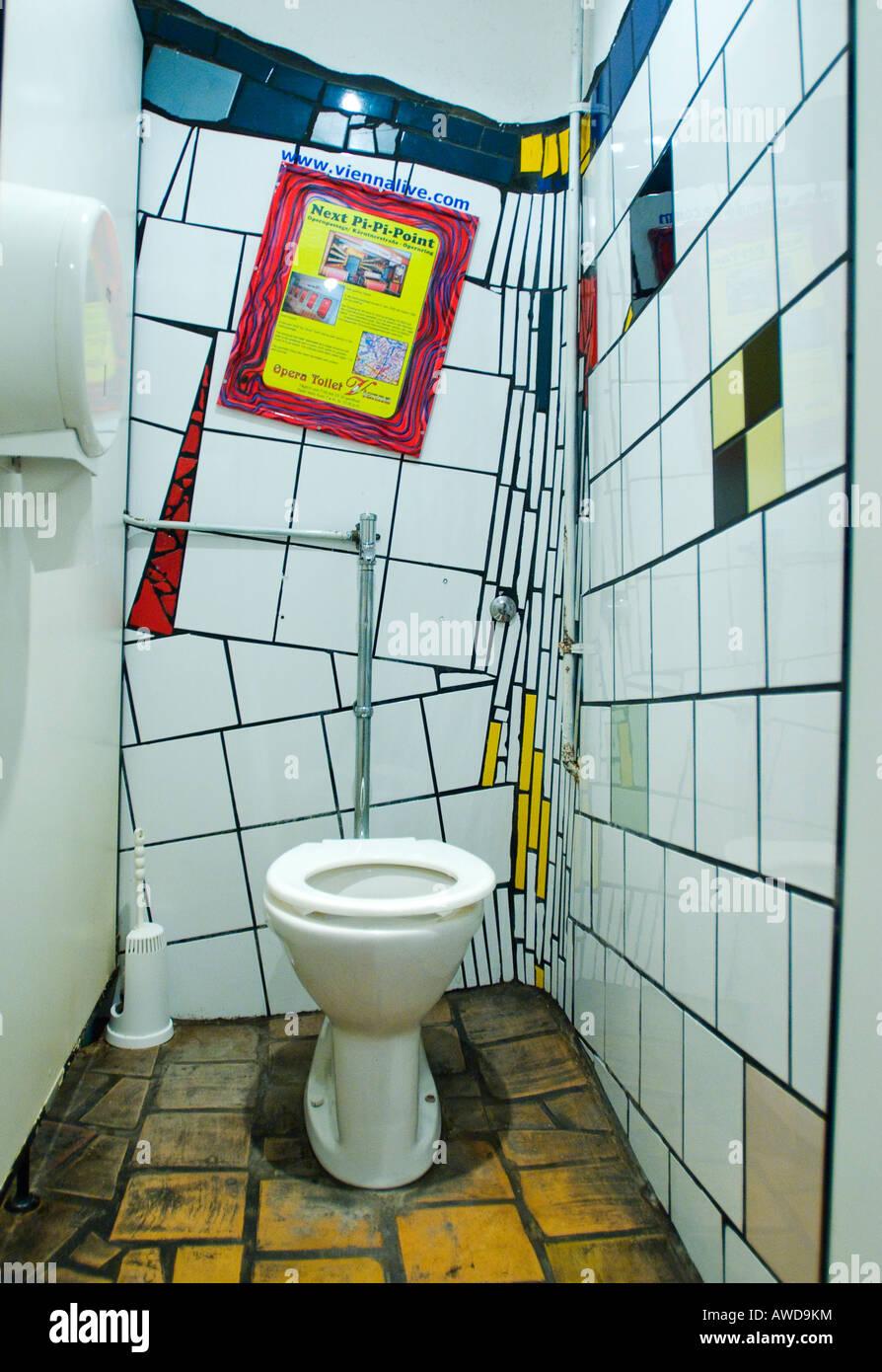 Toilette der modernen Kunst, Friedensreich Hundertwasser, Wien ...