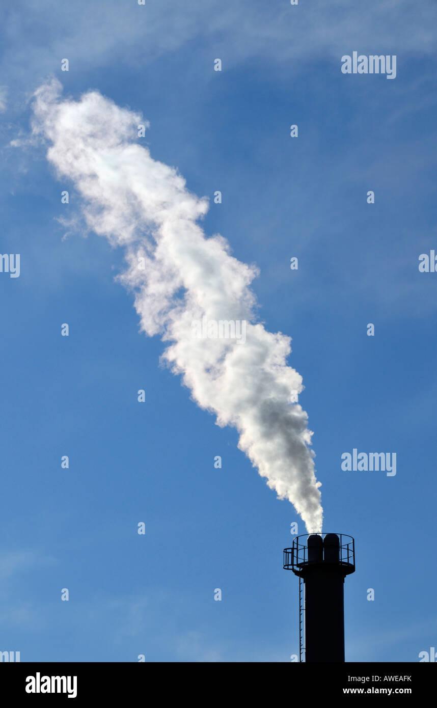 Rauchen-Schornstein Stockbild