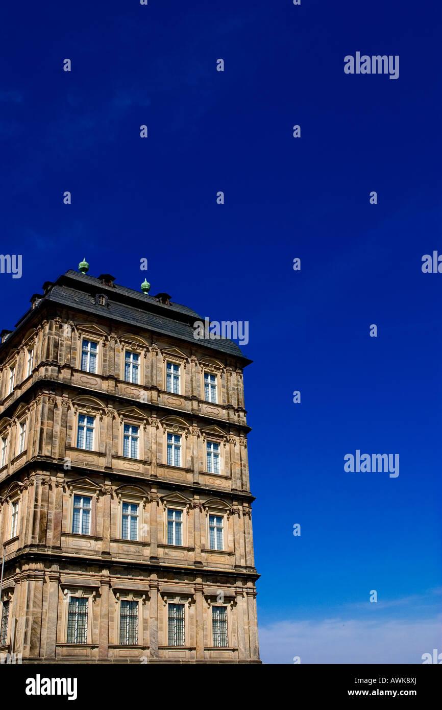Neue Residenz in den Domplatz, Bamberg, Deutschland Stockbild