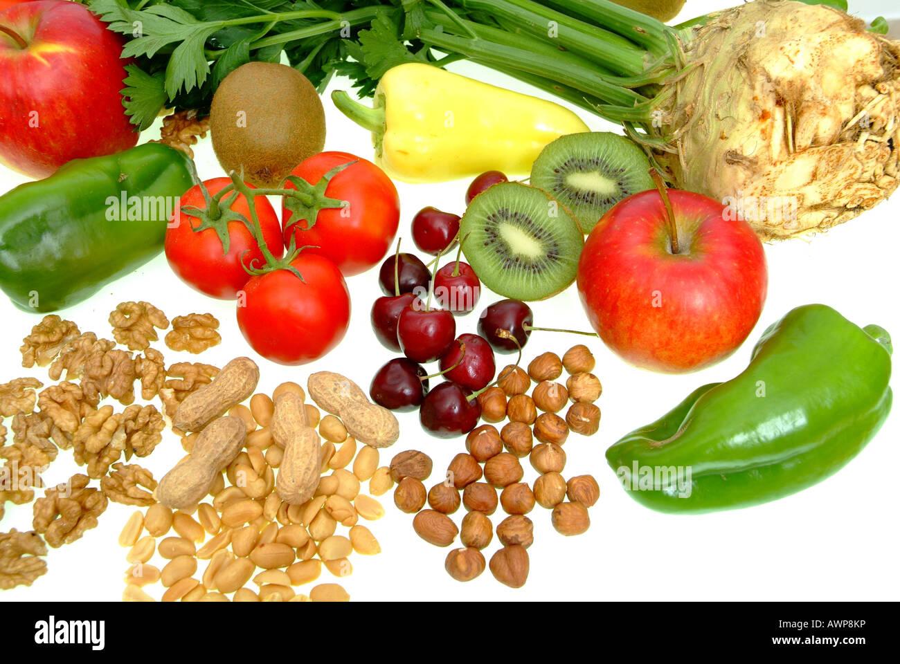 vegetarisches Essen Stockbild