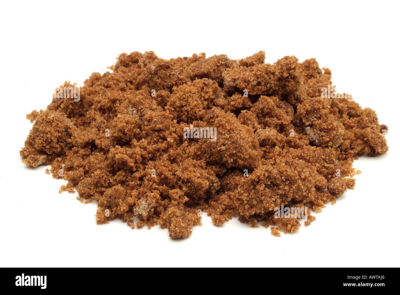 Brauner Zucker weich Granulat Korn Süßstoff süßen Candy trocknen ...