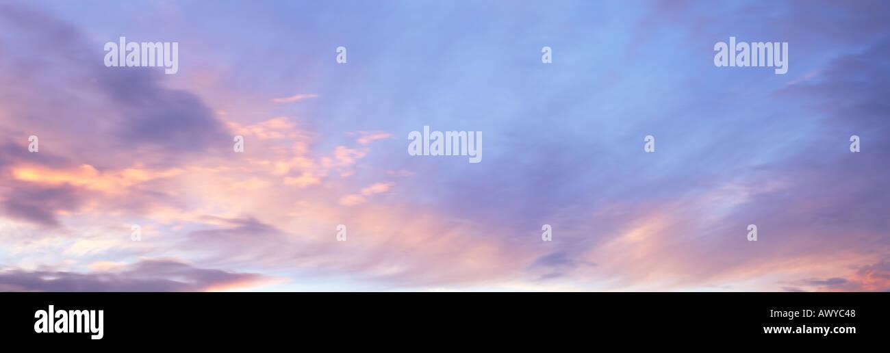 Sonnenuntergang Himmel Stockbild