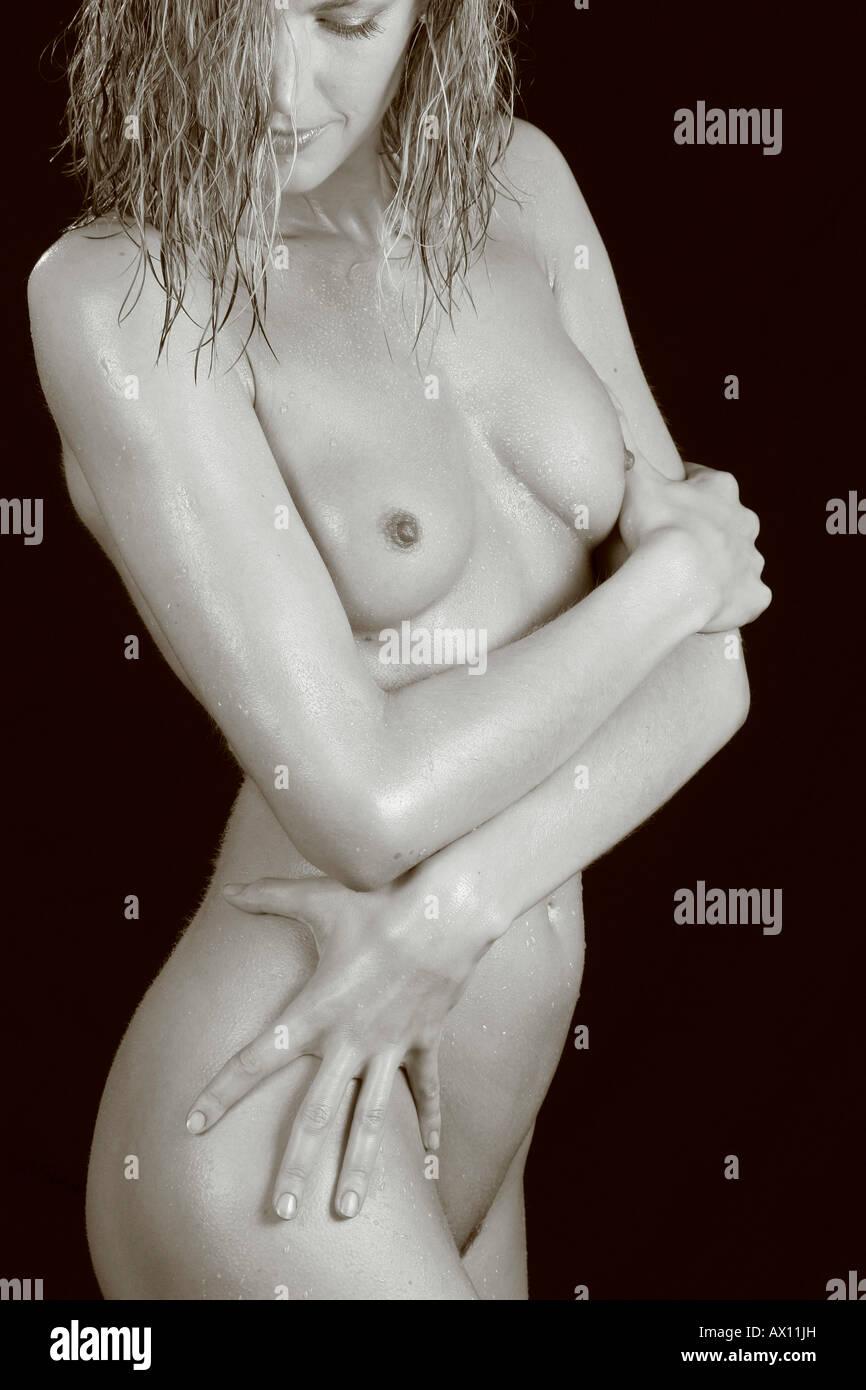 nackte geölte Frauen