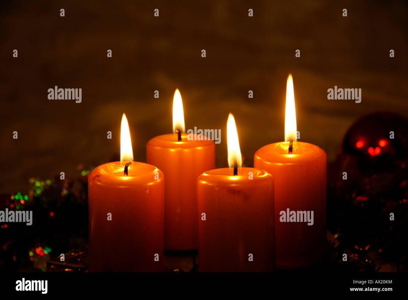 advent wreath four candles on stockfotos advent wreath four candles on bilder alamy. Black Bedroom Furniture Sets. Home Design Ideas