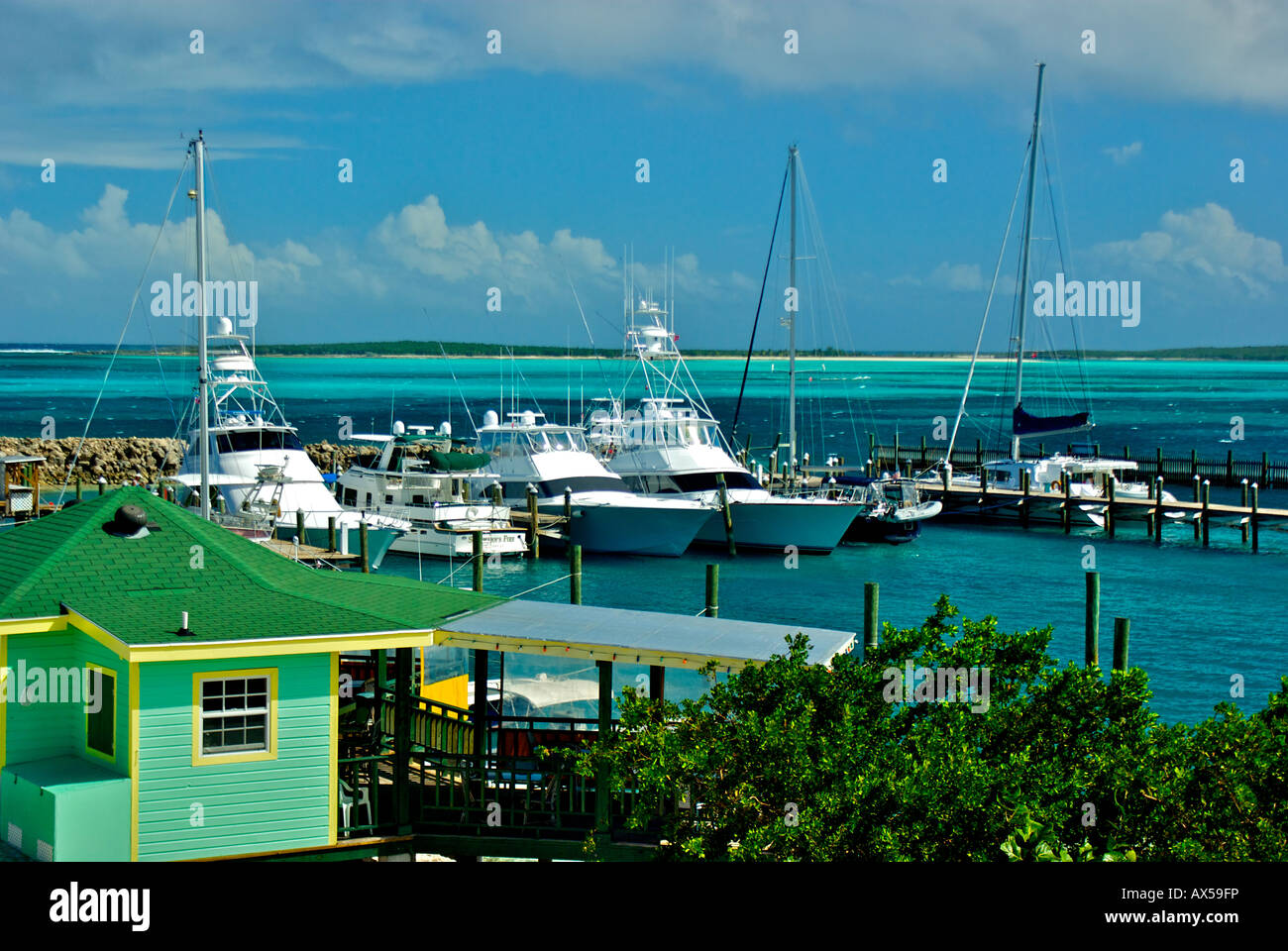 Fliegende Fische Marina in Clarence Town Long Island Bahamas ... on