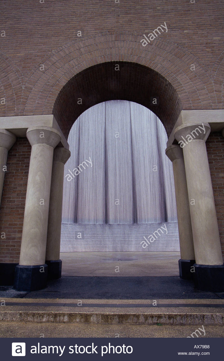 Wasser-Wand-Denkmal Houston Texas USA Stockfoto, Bild: 1735095 - Alamy