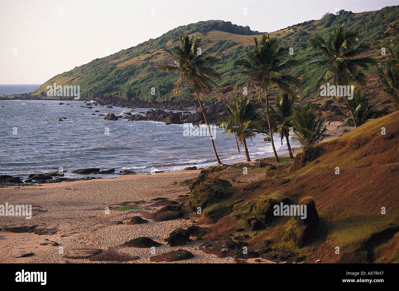 Anjuna Beach, Goa, Indien Stockbild