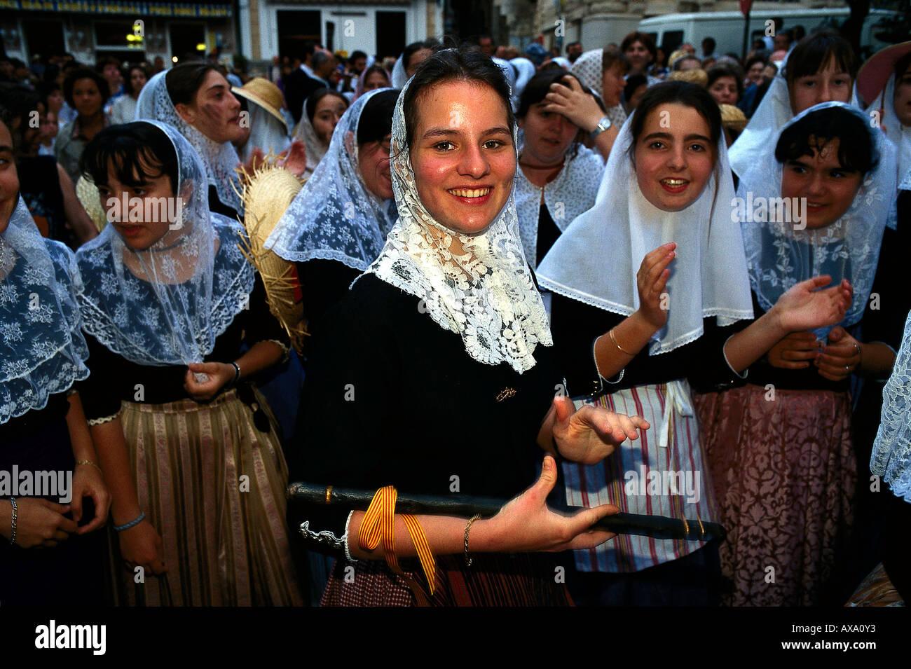 Fest der Mauren Und Christen, Soller, Mallorca, Spanien Stockbild