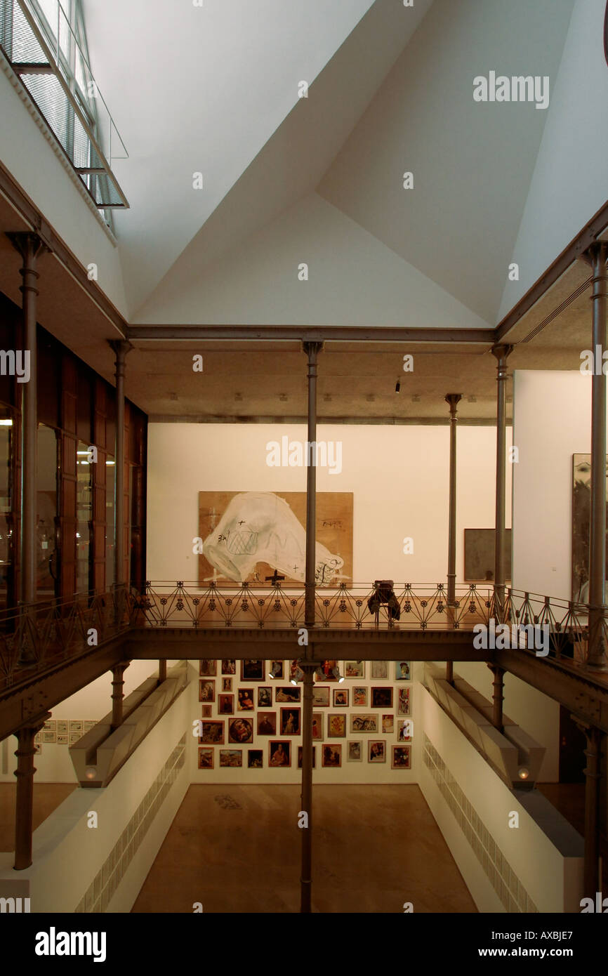 Spanien Barcelona Fundacio Tapies interieur Stockbild