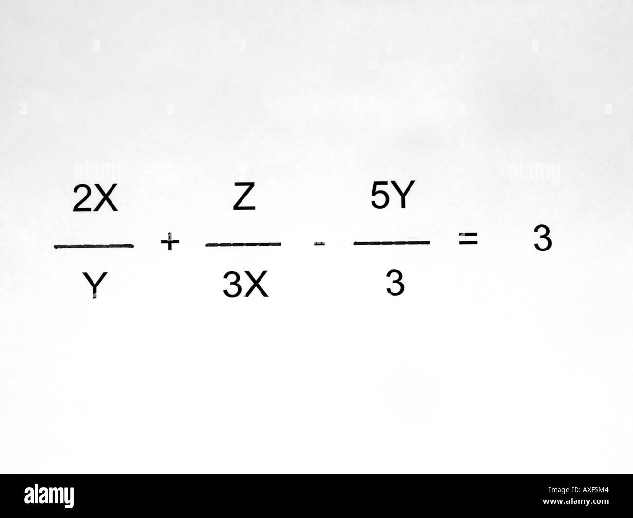 Beste Algebraische Gleichung Hilfe Galerie - Gemischte Übungen ...