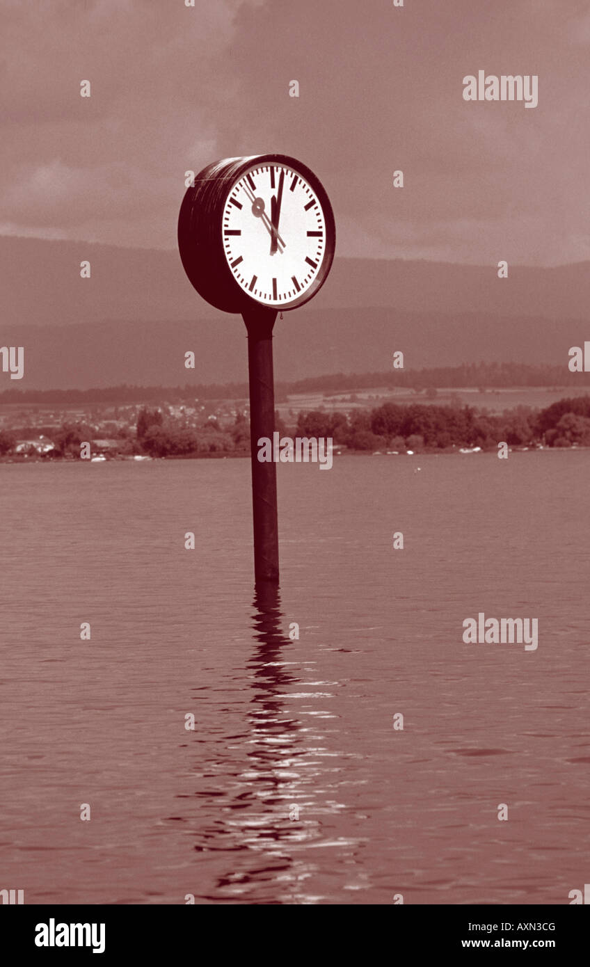 Time-zeitloses Konzept-symbol Stockbild