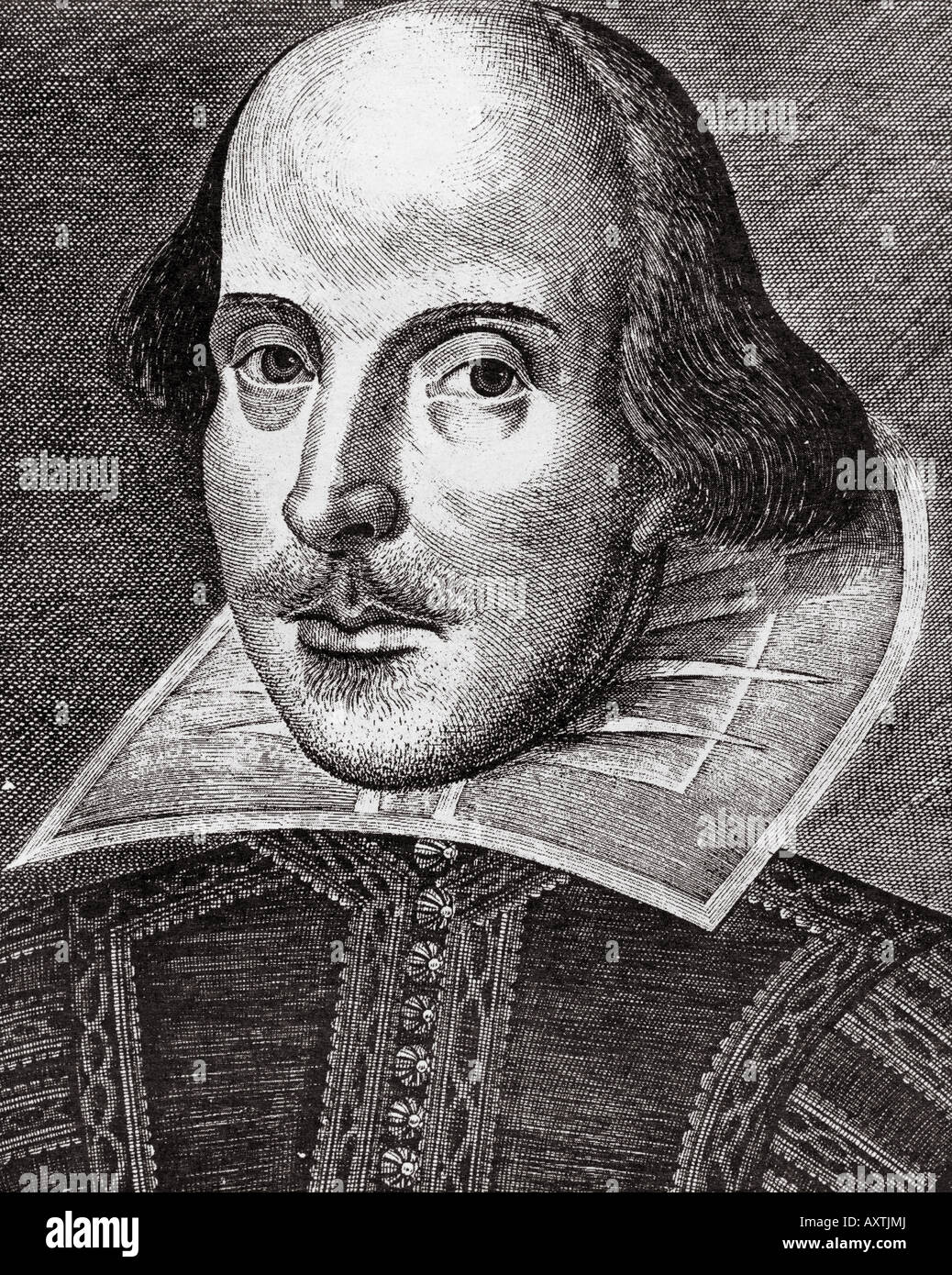 Portrait William Shakespeare Stockfotos & Portrait William ...