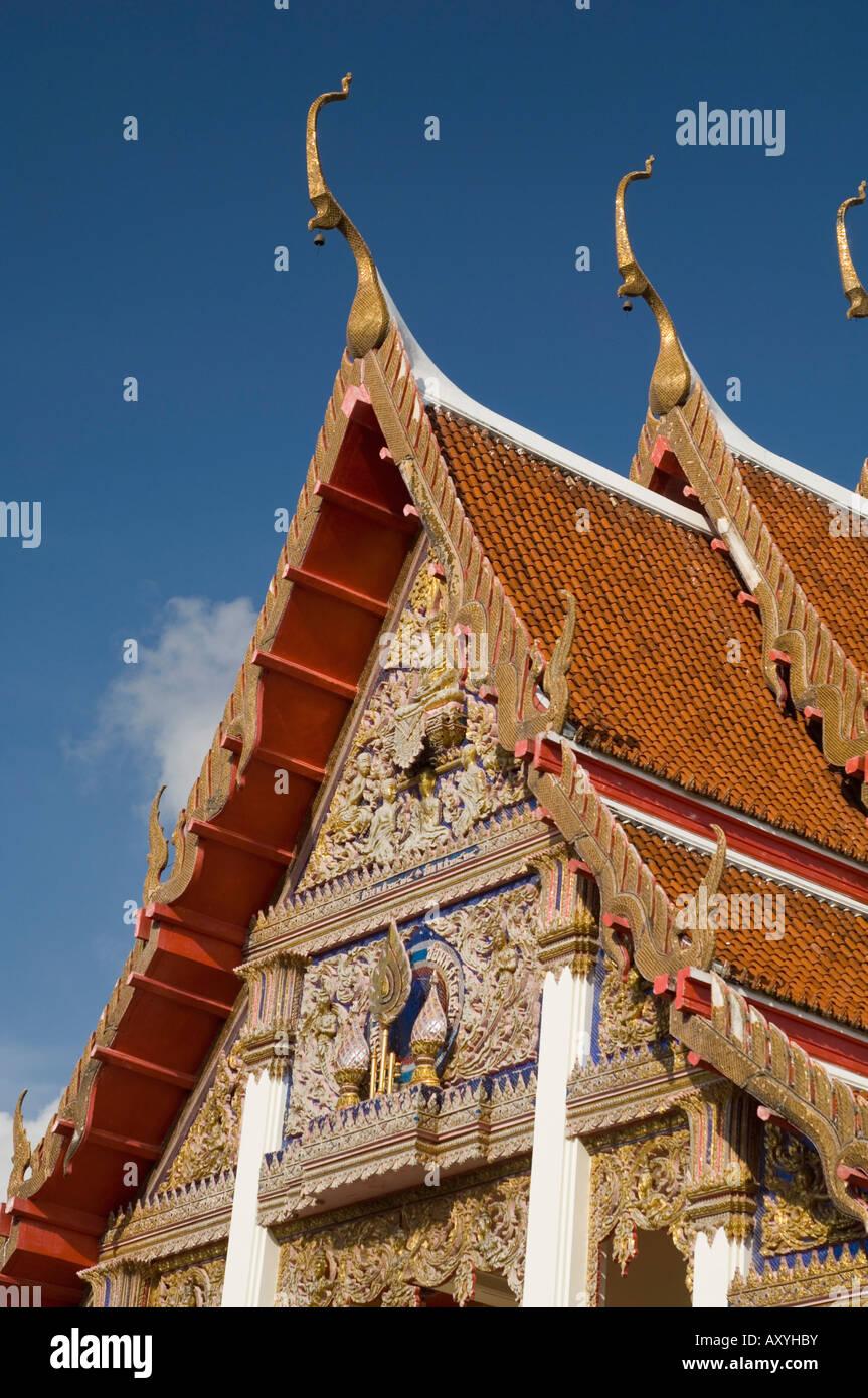Wat Chalong Tempel, Phuket, Thailand, Südostasien, Asien Stockfoto