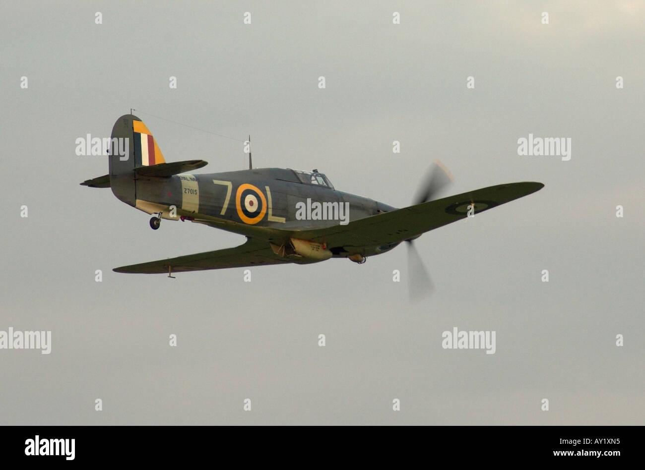 Hawker Sea Hurricane Mk1b Stockbild
