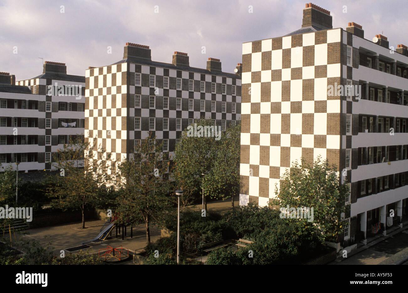Duke of Westminster besitzt Wohnsiedlung in Victoria London HOMER SYKES Stockbild