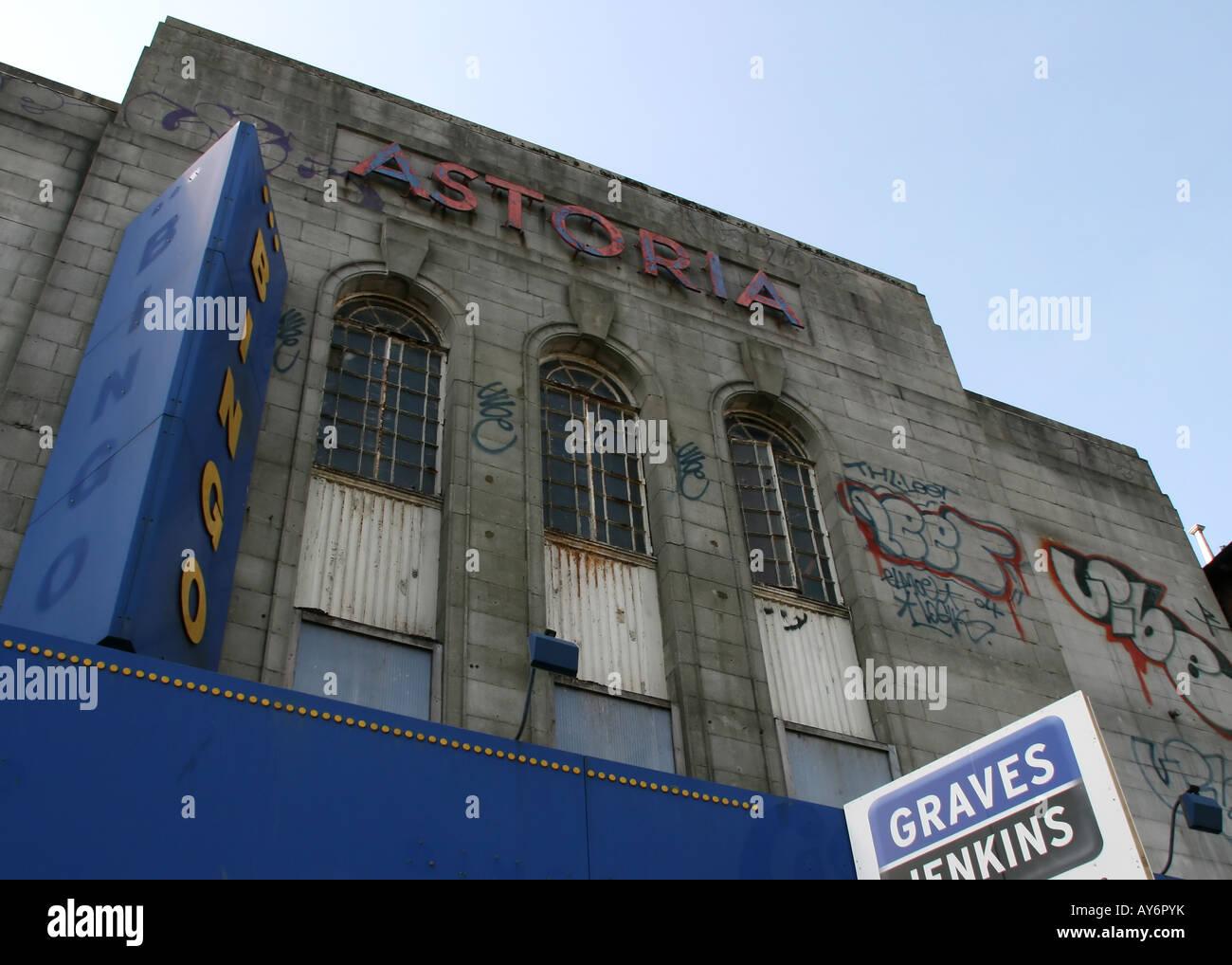 Astoria Kino, Gloucester Place, Brighton (verlassenen) Stockfoto