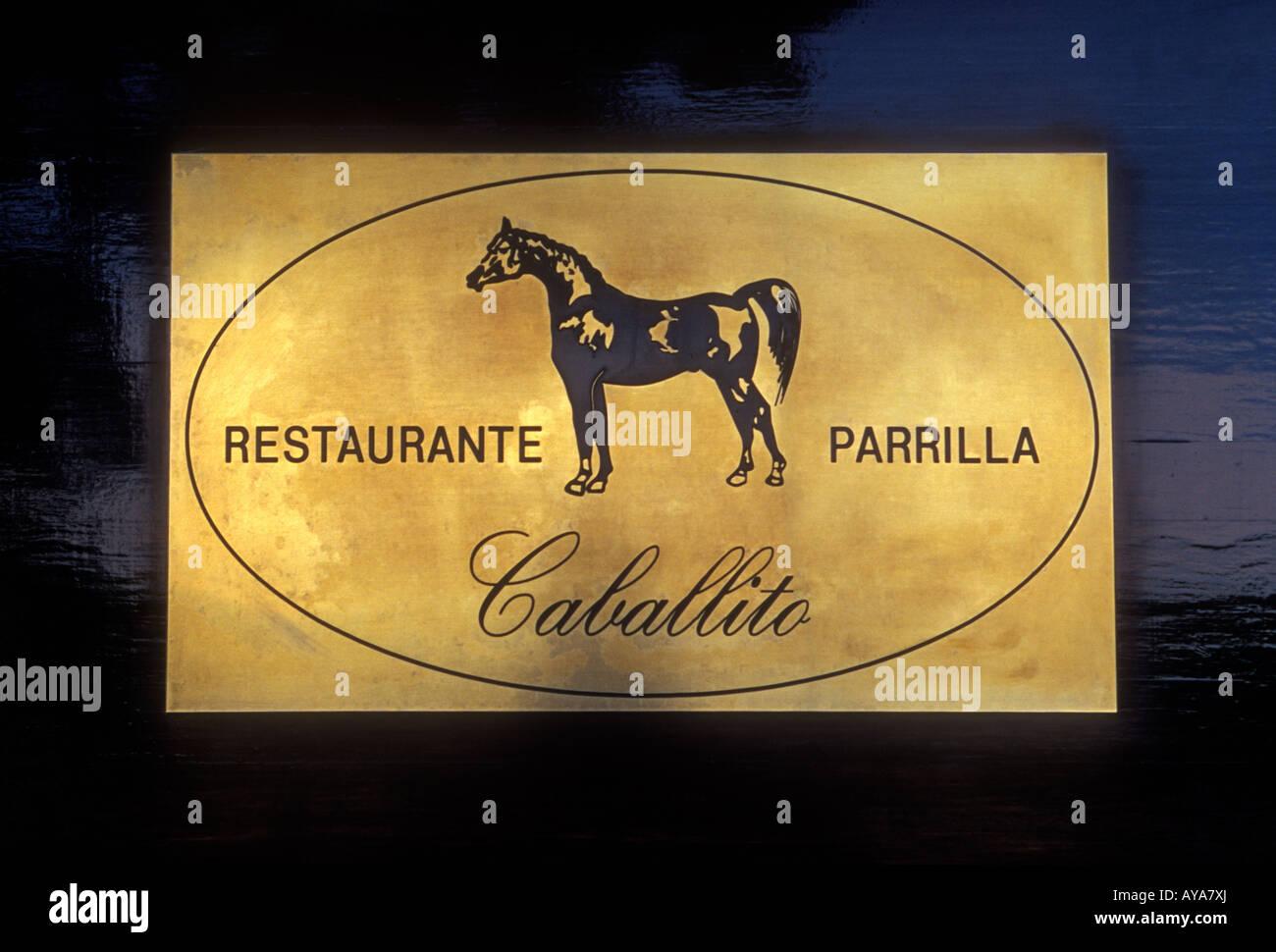 Restaurante Caballito, Caballito Restaurant, Parrilla, Spanisch ...
