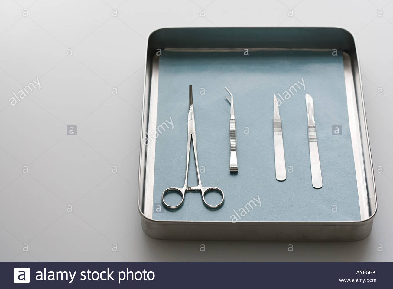 Chirurgische Geräte Stockbild