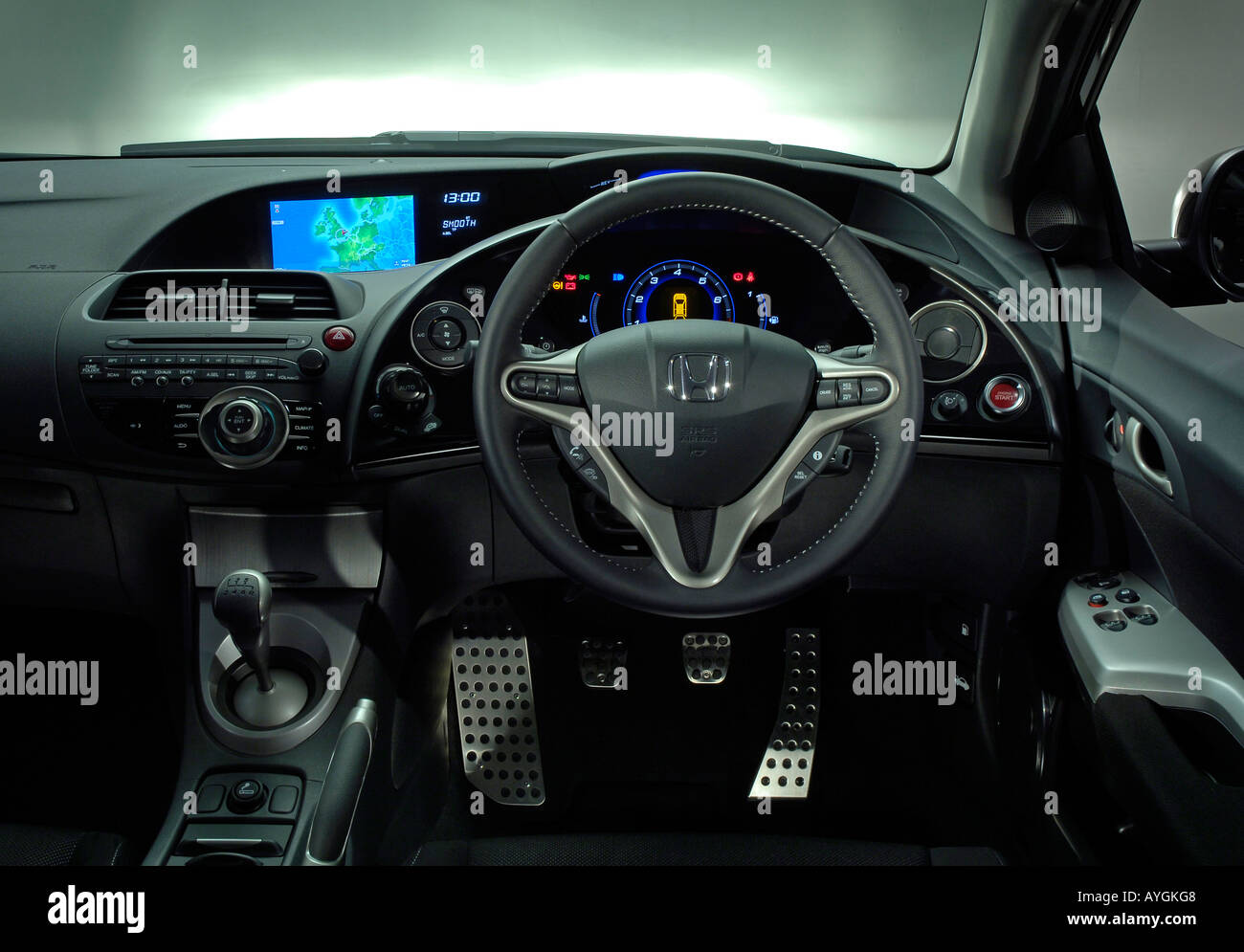 Honda Civic Type R Interior Stockfotos & Honda Civic Type R Interior ...