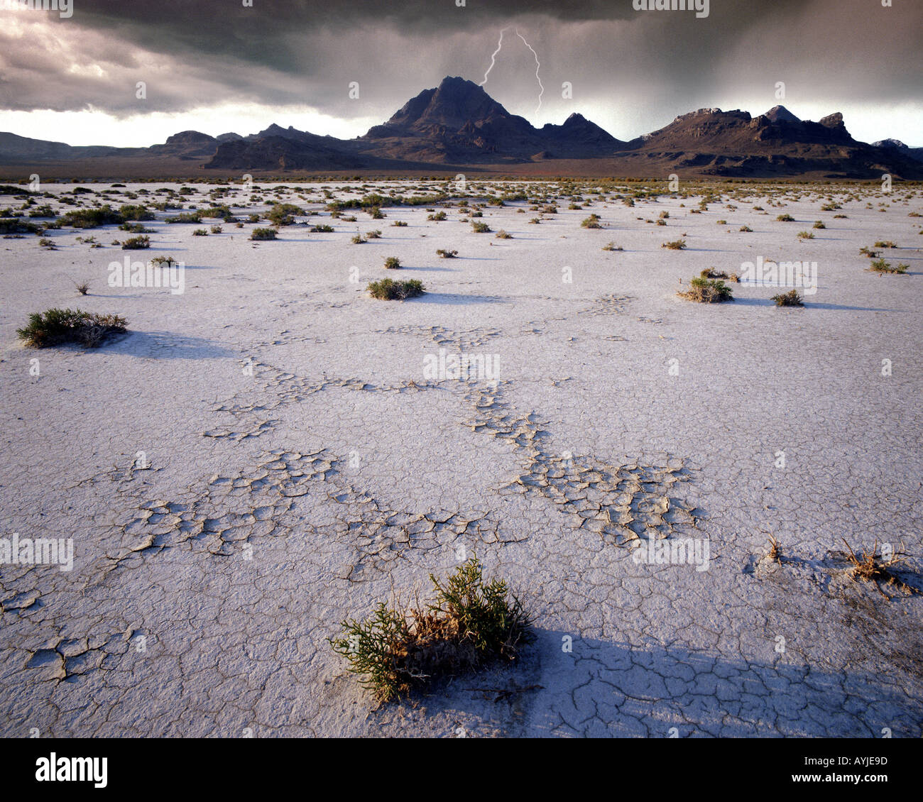 Usa Utah Bonneville Salt Flats In Der Great Salt Lake Desert